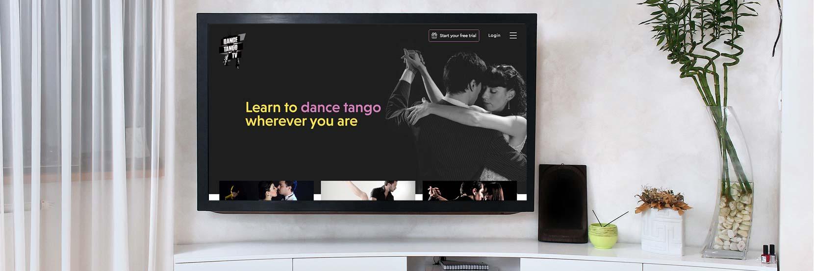 DanceTangoTV is Now Live! | Online Tango Classes