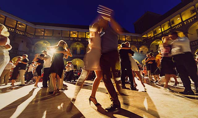 Photo of Milonga in Buenos Aires