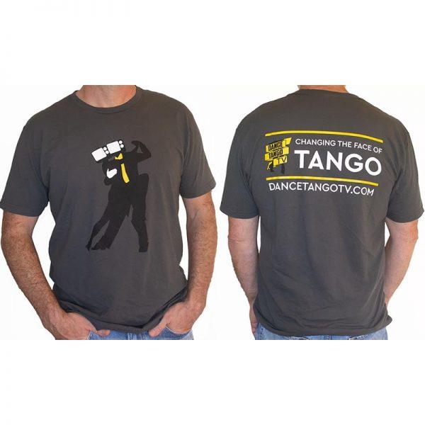 DanceTangoTV Heads T-Shirt Mens