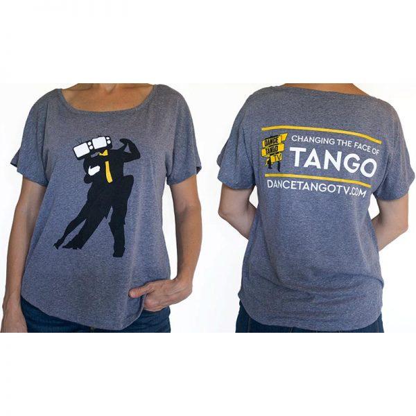 DanceTangoTV Heads T-Shirt Womens