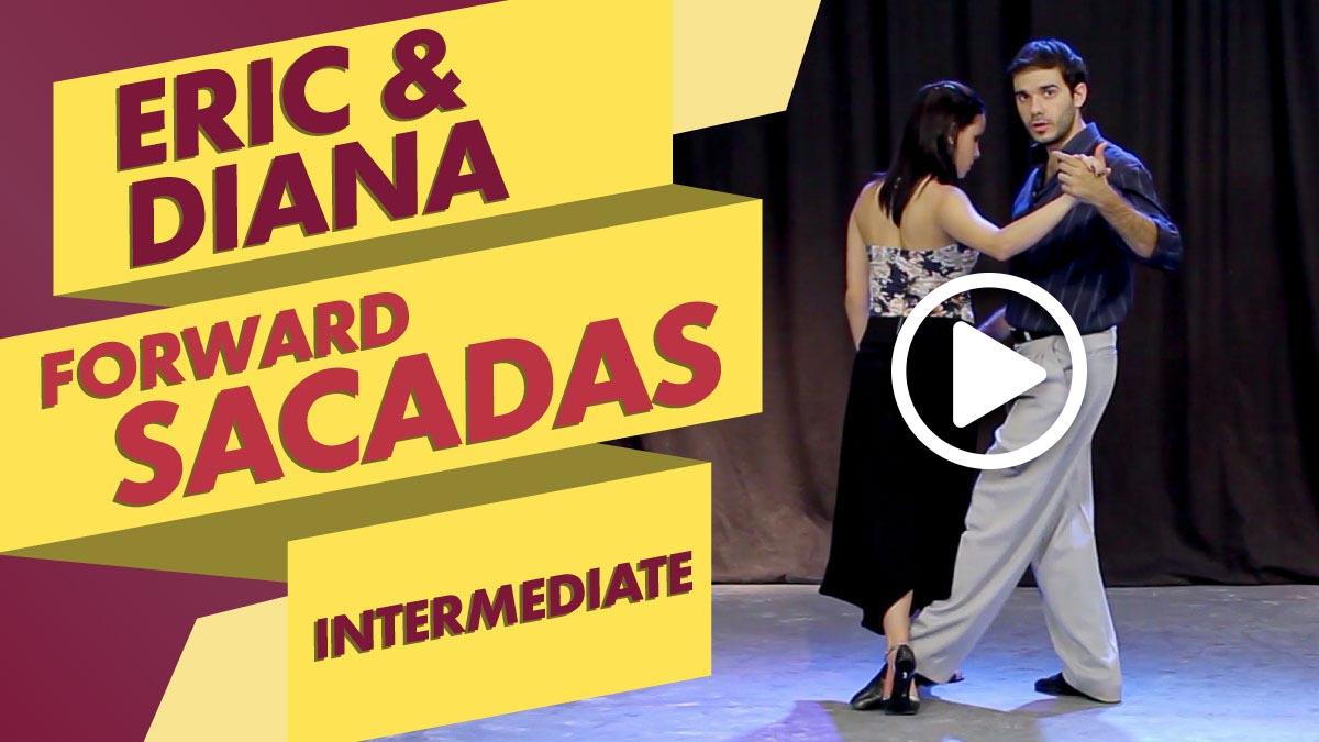 Eric Dinzel and Diana Suarez teach Forward Sacadas