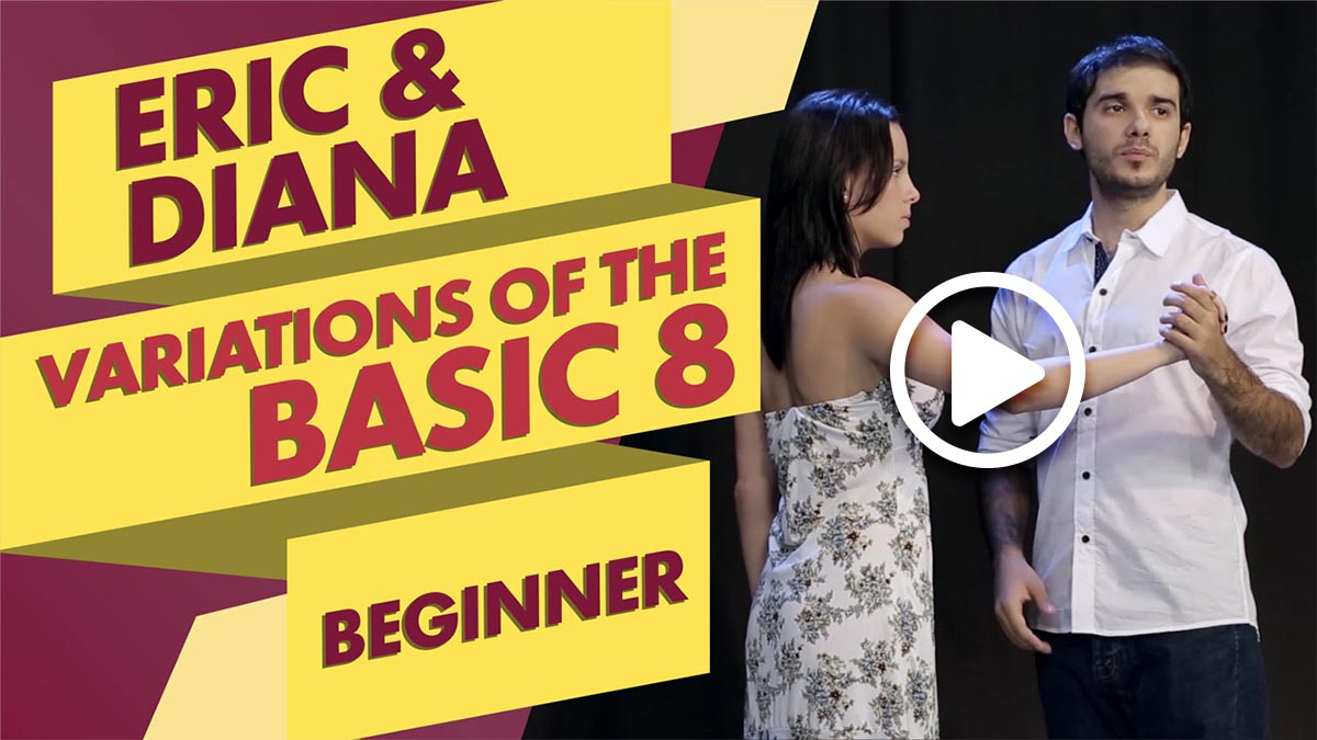 Eric Dinzel and Diana Suarez teach Variations of the Basic Eight