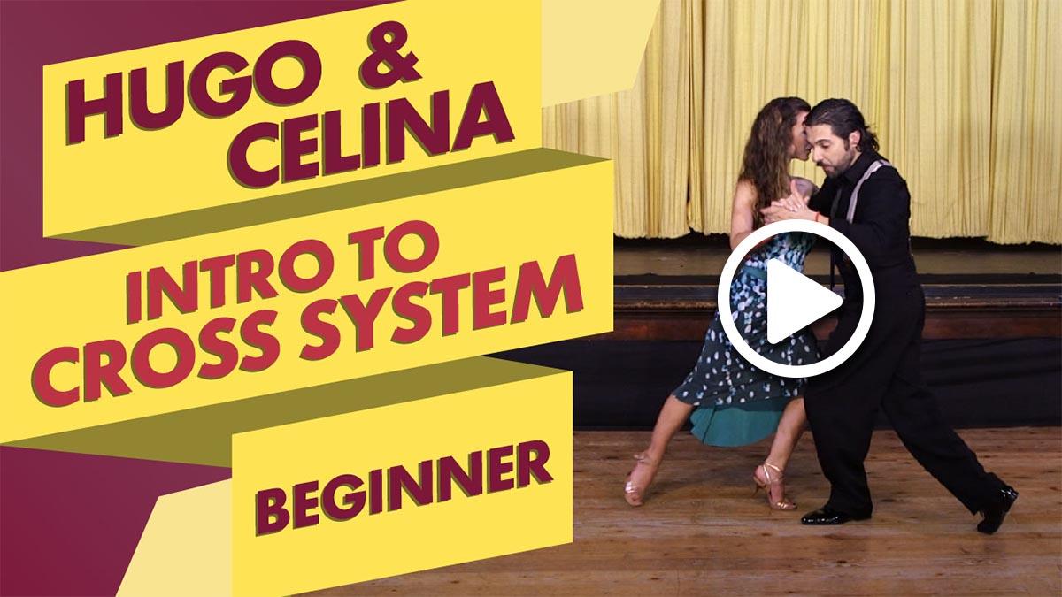 Hugo Patyn and Celina Rotundo teaching an introduction to cross system class