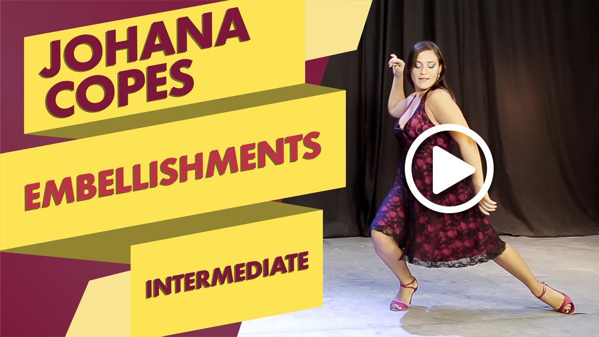 Johana Copes teaches Embellishments